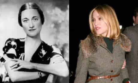 Wallis Simpson and Madonna