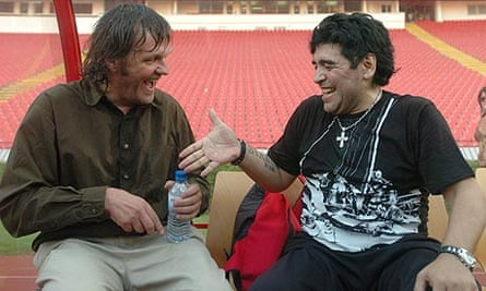 Still from Maradona by Kusturica