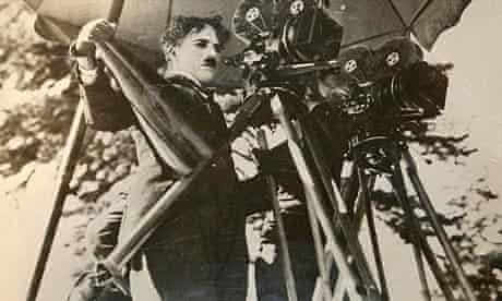 Charlie Chaplin, pictured on the set of The Gold Rush