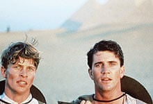 Mark Lee and Mel Gibson in Gallipoli