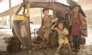 Child stars of Slumdog Millionaire