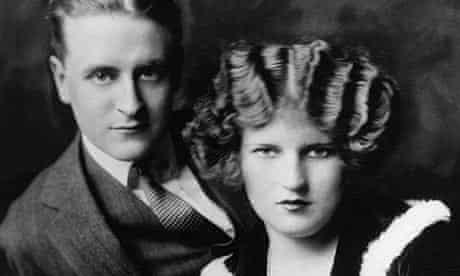 F Scott Fitzgerald and his wife, Zelda