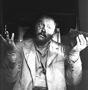 Sergio Leone: Rod Steiger on the set of A Fistful of Dynamite (1971)