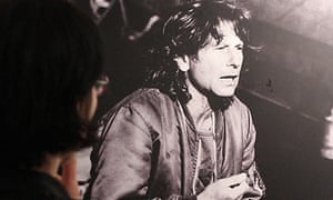 A photograph of Roman Polanski in a new exhibition at the film museum of Lodz