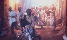 Scene from Gandhi (1982)