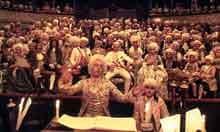 Scene from Amadeus (1984)