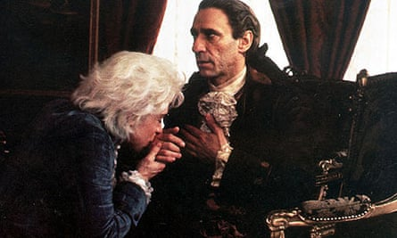 Tom Hulce and F Murray Abraham in Amadeus (1984)