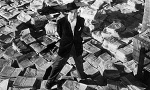 Orson Welles in Citizen Kane