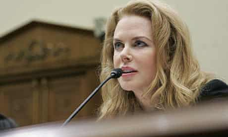 Nicole Kidman appears before the House Foreign Affairs Subcommittee, 21 October 2009