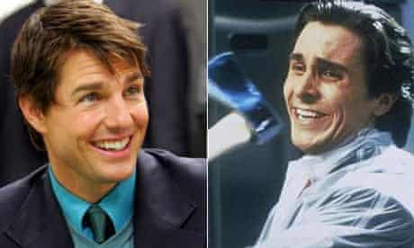Tom Cruise and Christian Bale in American Psycho