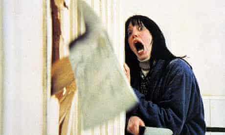 Shelley Duvall in a scene from The Shining (1980)