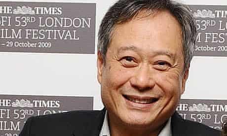 Ang Lee at the London film festival premiere of Taking Woodstock