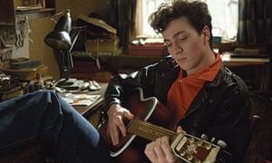 Aaron Johnson as John Lennon in Nowhere Boy (2009)