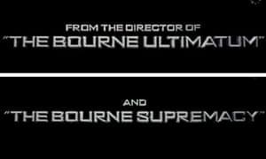 Green Zone titles: Bourne again