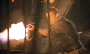 Matt Damon with firepower in Green Zone