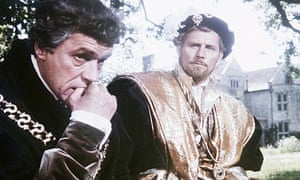 reel history a man for all seasons less piety would have been  paul scofield and robert shaw in a man for all seasons 1966