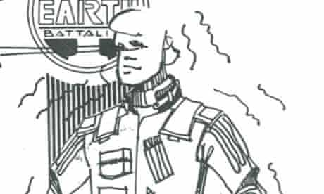 Detail from Jim Channon's First Earth Battalion: Potential