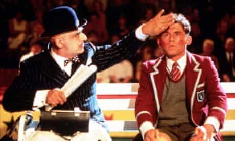 George Khan and Lee Evans in Funny Bones