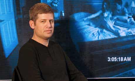 Oren Peli presenting his film Paranormal Activity in Madrid