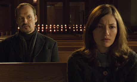 Michael Keaton and Kelly Macdonald in The Merry Gentleman (2008)
