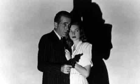 Humphrey Bogart and Lauren Bacall in The Big Sleep
