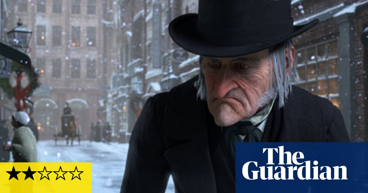 Christmas Carol Jim Carrey.Film Review A Christmas Carol Film The Guardian
