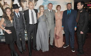 Sherlock Holmes: The makers of Sherlock Holmes at its world premiere in London