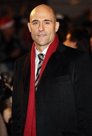 Sherlock Holmes: Mark Strong at the world premiere of Sherlock Holmes