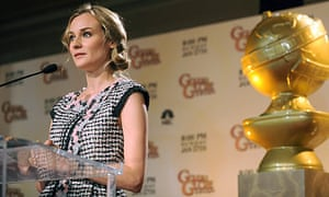 Diane Kruger announcing the nominations for the 67th annual Golden Globe awards