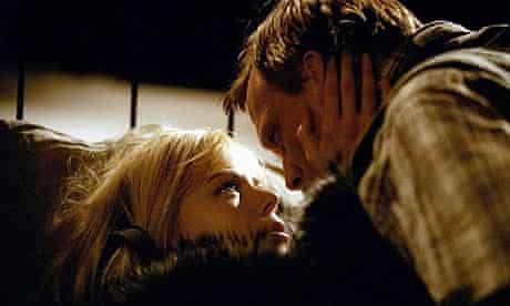 Nicole Kidman and Paul Bettany in Dogville (2003)