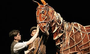 War Horse at the National Theatre, September 2008