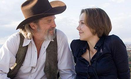 Jeff Bridges and Maggie Gyllenhaal in Crazy Heart