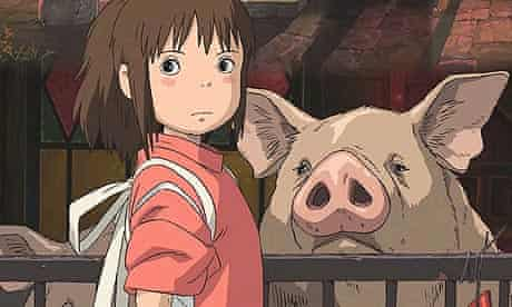 Scene from Spirited Away (2001)