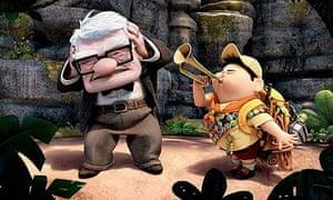 Scene from Pixar's Up