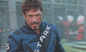 Robert Downey Jr in Iron Man 2 (2010)