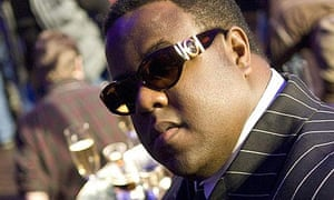 Jamal Woolard as Biggie in Notorious