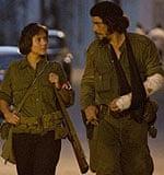 Catalina Sandino Moreno and Benicio del Toro in Che