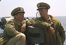 Jon Bon Jovi and Matthew McConaughey in U-571