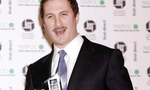 Darren Aronofsky with his London Critics' Circle Film award for best picture, The Wrestler