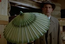 Kevin Costner in a scene from The Untouchables
