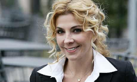 Natasha Richardson during a photocall for The White Countess, directed by James Ivory, in Rome