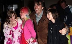 The Boat That Rocked: Jonathan Ross with his kids at the world premiere of The Boat That Rocked