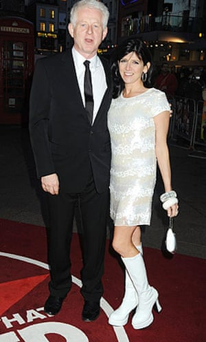 The Boat That Rocked: Richard Curtis and Emma Freud at the world premiere of The Boat That Rocked