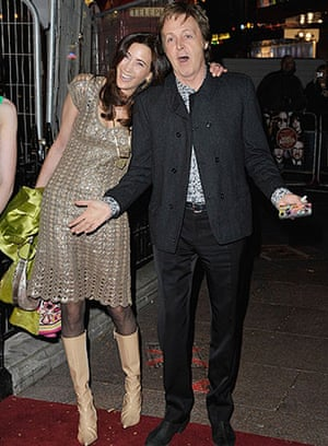 The Boat That Rocked: Paul McCartney and Nancy Shevell at the premiere of The Boat That Rocked