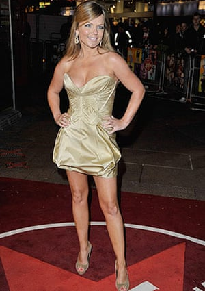 The Boat That Rocked: Geri Halliwell at the world premiere of The Boat That Rocked