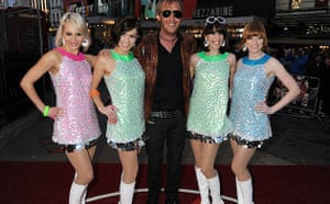 The Boat That Rocked: Rhys Ifans at the world premiere of The Boat That Rocked