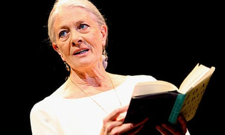Vanessa Redgrave in The Year of Magical Thinking at the National Theatre in London in 2008