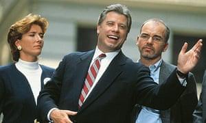 Emma Thompson, John Travolta and Billy Bob Thornton in Primary Colors (1998)