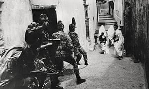 Scene from The Battle of Algiers (1965)