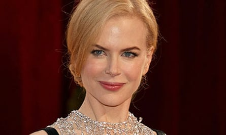 Nicole Kidman at the 2008 Oscars ceremony in Los Angeles